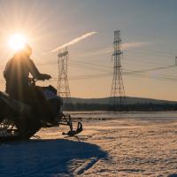 Electric snowmobile_2