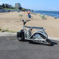 Гусеничный электро вездеход_sandbike_3