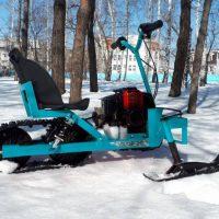 Детский снегоход_мотоснегокат_4