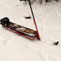 Электро сноускутер снегокат_2