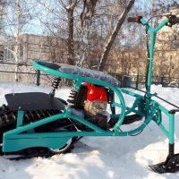 Мотоснегокат_детский снегоход_1
