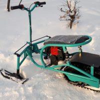 Мотоснегокат_детский снегоход_4