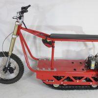 Электрический вездеход_сноубайк_electric atv_tracked vehicle_snowbike_2