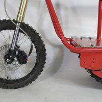 Электрический вездеход_сноубайк_electric atv_tracked vehicle_snowbike_4