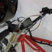 Электрический вездеход_сноубайк_electric atv_tracked vehicle_snowbike_9
