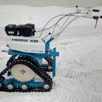 гусеничная приставка для мотоблока_снегоходная приставка_6