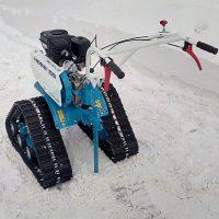 гусеничная приставка для мотоблока_снегоходная приставка_9