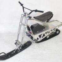 Электрический снегоход_электро снегоход_сноубайк_мотоснегокат_мотособака_мотобуксировщик_2