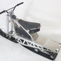 Электрический снегоход_электро снегоход_сноубайк_мотоснегокат_мотособака_мотобуксировщик_4