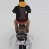 Электрический снегоход_электро сноубайк_сноускутер_электро собака_электро буксировщик_10