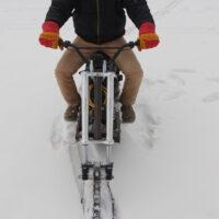 Электрический снегоход_электро сноубайк_сноускутер_электро собака_электро буксировщик_11