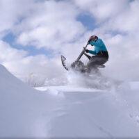 Электрический снегоход_электро сноубайк_сноускутер_электро собака_электро буксировщик_13